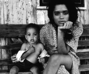 lisa bonet, baby, and mother image
