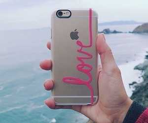 iphone, love, and apple image