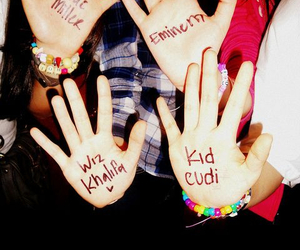 eminem, kid cudi, and wiz khalifa image