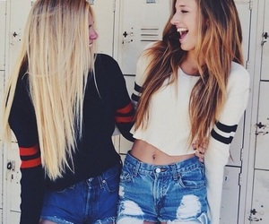 friends, best friends, and blonde image