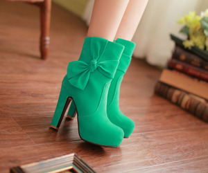 boots and high heel image