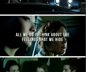 badlands, lydia martin, and stiles stilinski image