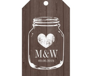 gift tags, shower favors, and wedding favors tags image