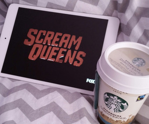 quality, starbucks, and scream queens image