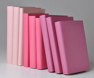 pink and books image