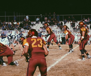 football, october, and high school image