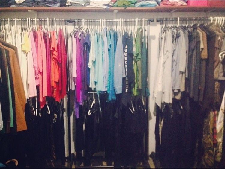 closet, colores , and clothes image