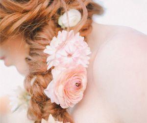beautiful, wedding, and hair image