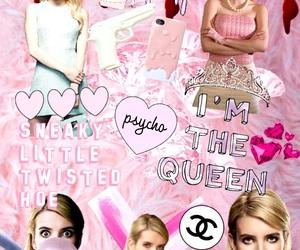 chanel, pink, and emma roberts image
