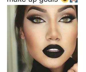 goals, make up, and makeup image