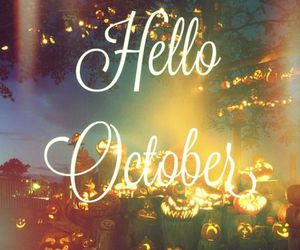 october, autumn, and Halloween image