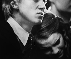 dramione, hermione, and love image