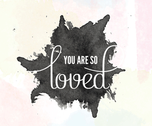 love, loved, and wallpaper image