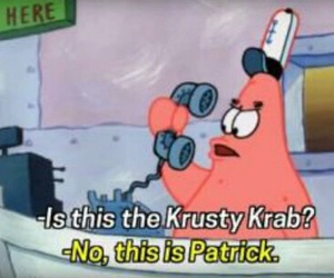 funny, spongebob, and krusty krab image