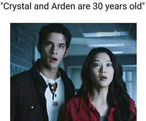 teen wolf, arden cho, and crystal reed image