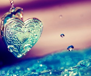 locket, photography, and water image