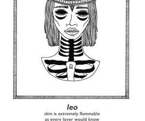 Leo, zodiac, and horoscope image