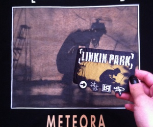 black, lp, and meteora image
