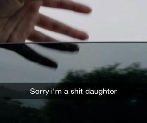 sad, grunge, and daughter image