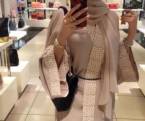 hijab, abaya, and luxury image