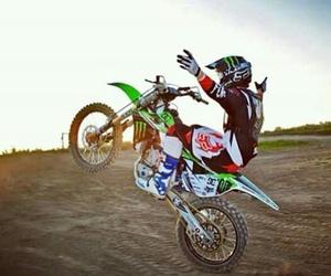 kawasaki, motocross, and fredoom image
