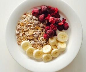 banana, breakfast, and oatmeal image