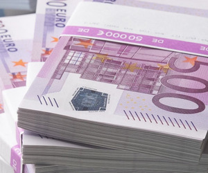 euro, money, and rich image