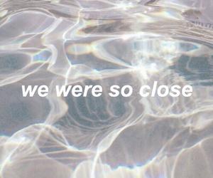 grunge, water, and sad image