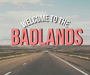 badlands, halsey, and grunge image