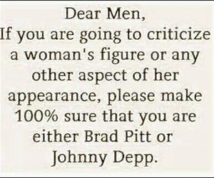 brad pitt, johnny depp, and quote image