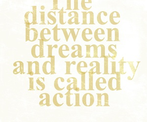 Action, believe, and dreams image