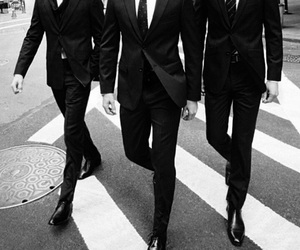 men, suit, and style image