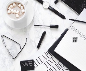 white, black, and coffee image