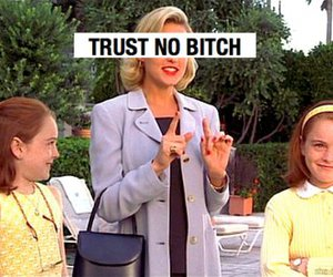 bitch, trust, and movie image