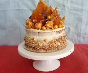 butter, cake, and caramel image