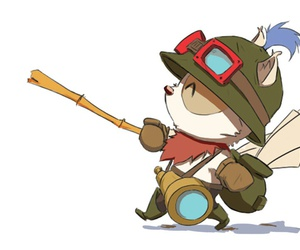teemo, op, and league of legends image
