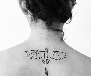 cool, dragon, and tattoo image