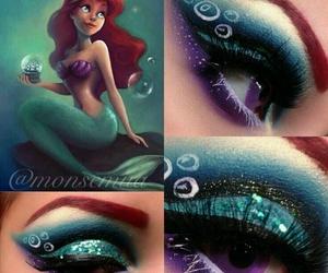 ariel, makeup, and make up image