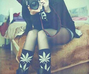 hippie, stoner girl, and hipster image