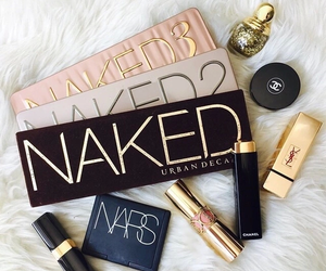 naked, chanel, and lipstick image