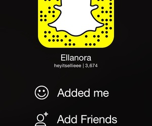 add, friend, and snap image
