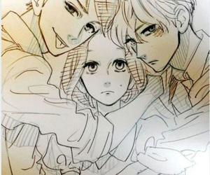hirunaka no ryuusei, manga, and yamamori mika image