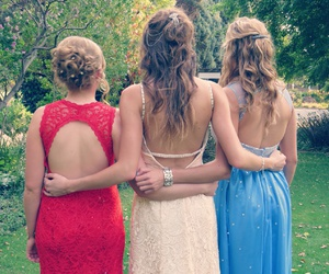 bff, dance, and dresses image
