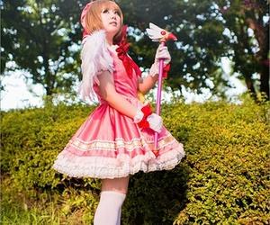 cosplay and sakura card captor image