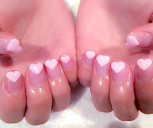 kawaii and art nail image