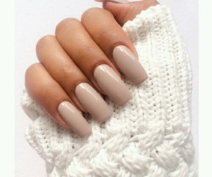 nails, Nude, and sweater image