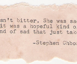 quote, stephen chbosky, and typewriter image