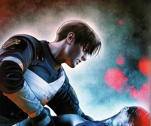 ada wong and leon kennedy image