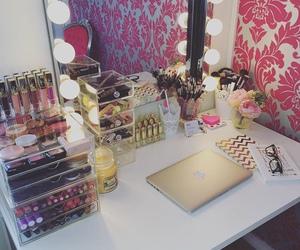makeup, girly, and mac image