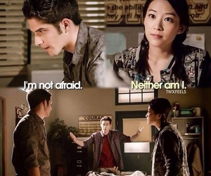 teen wolf, kira, and stiles image